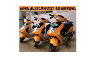 Ampere Electric partners Bounce to accelerate shared mobility on electric scooters