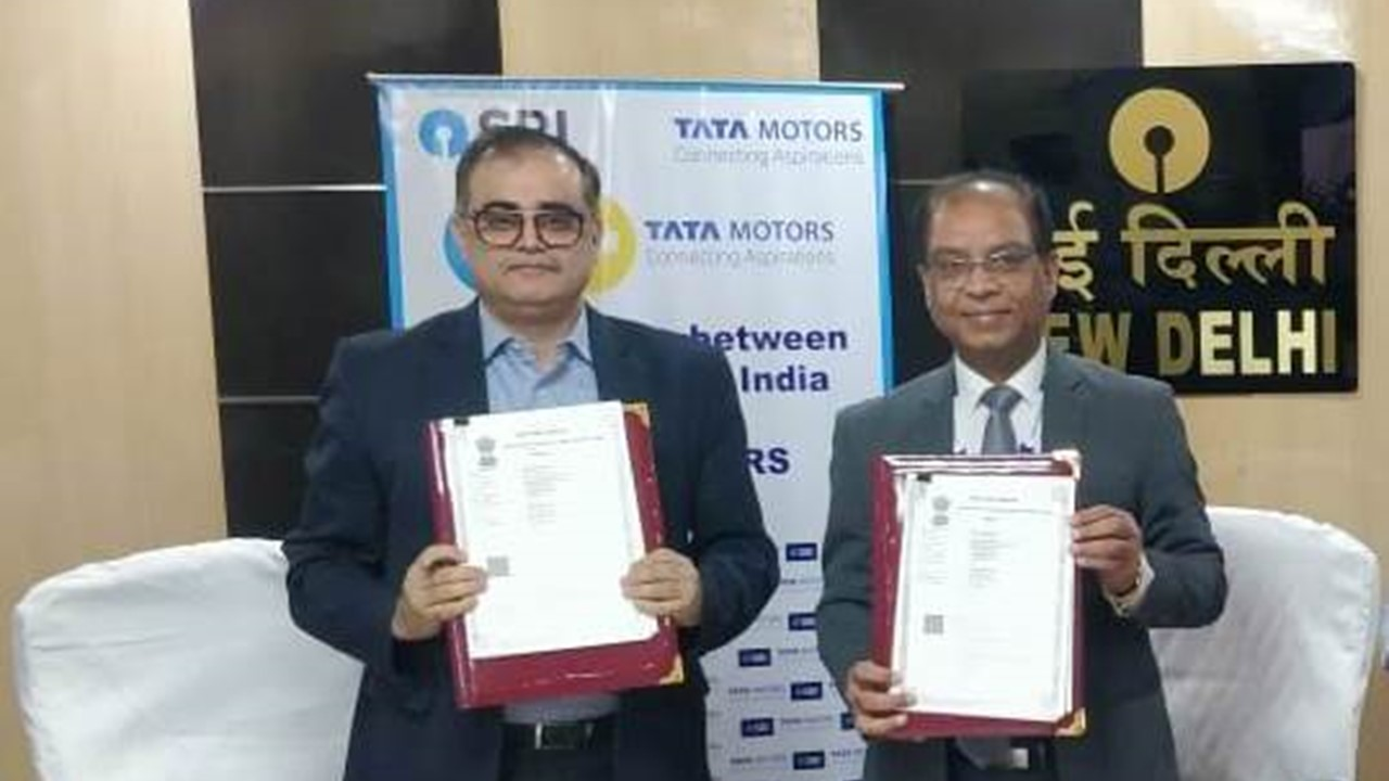 Tata Motors and SBI MoU to offer financial services for CV buyers