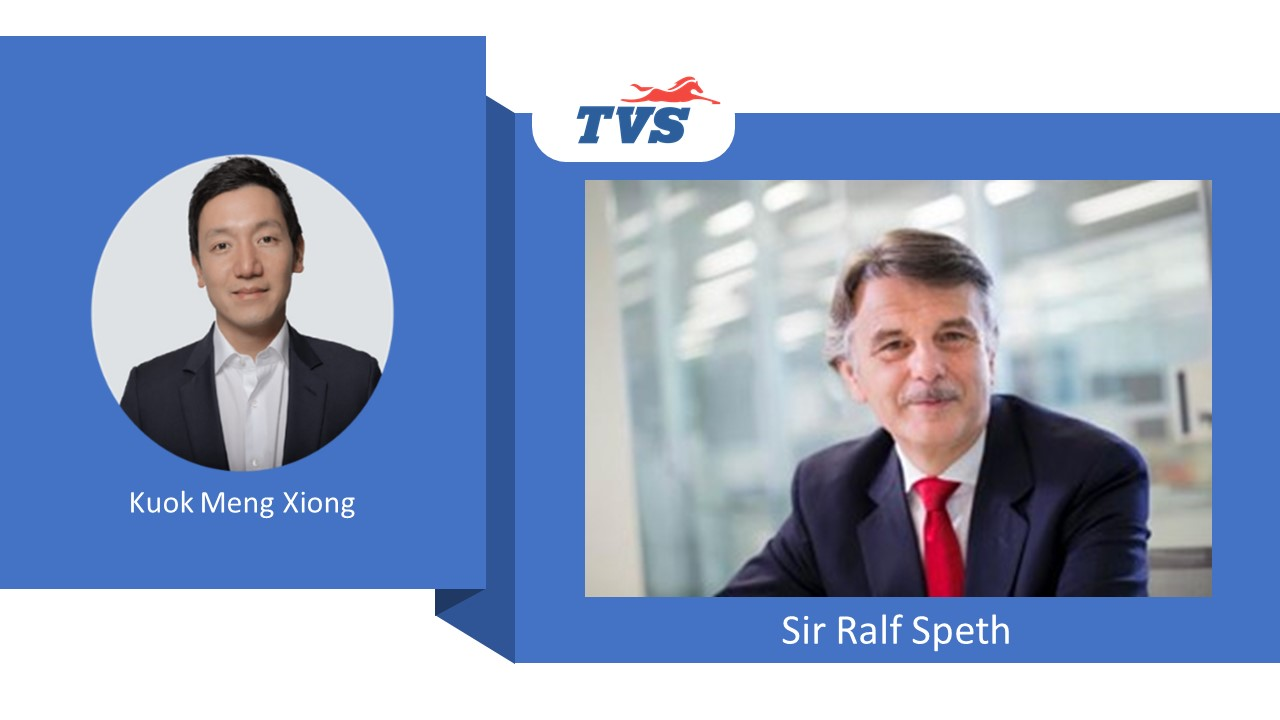 TVS Motor appoints global auto industry icon Sir Ralf Speth to its Board