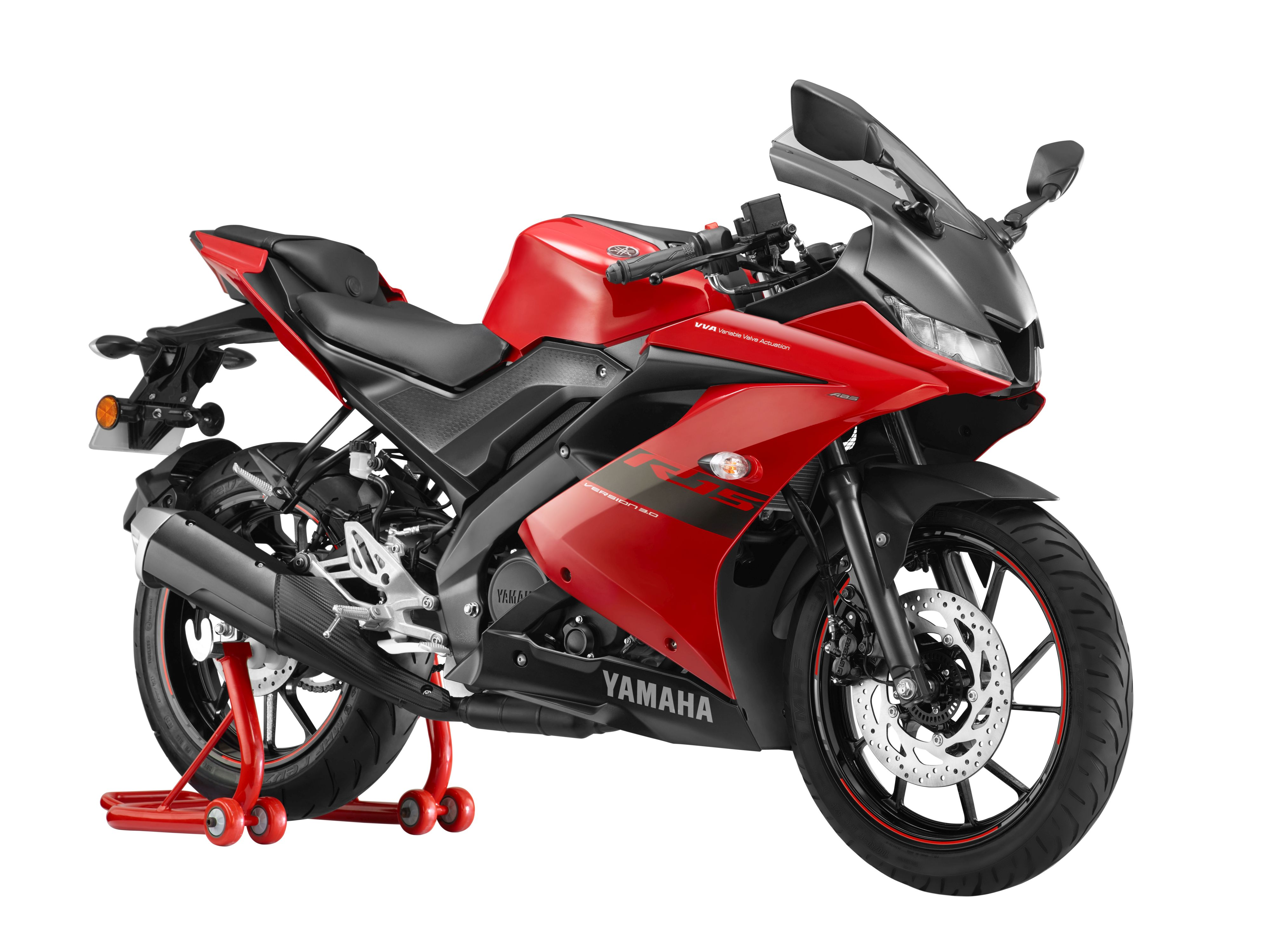 Yamaha unveils YZF-R15 3.0 in 'Metallic Red' colour