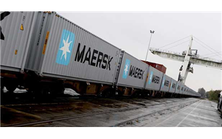 Maersk launches weekly double-stacked train for auto companies