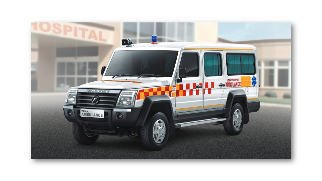 Force Motors delivers 50 Trax Ambulances to fight Covid-19 in Nanded