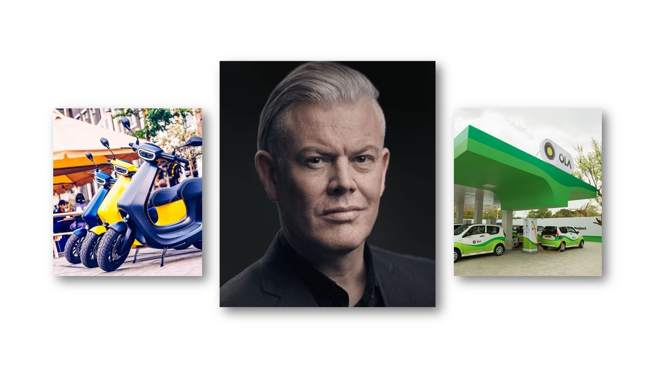 Ola Electric appoints Wayne Burgess as Head of Vehicle Design