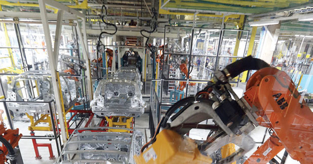 ABB wins large robot order from Valmet Automotive